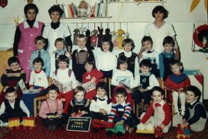 ovis csoportkép 1985