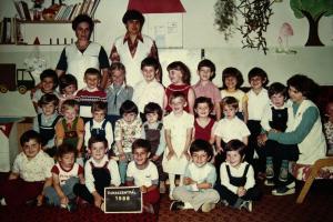 ovis csoportkép 1986
